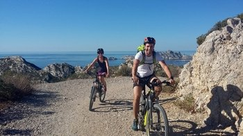 Calanques National Park Electric Bike Tour to Sormiou
