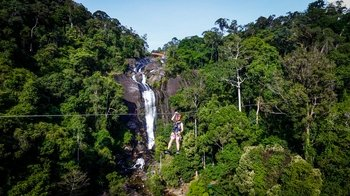 Umgawa Zip line Eco Adventure - Big Waterfall Adventure