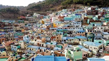 Full-Day Scenic Busan Tour with Gamcheon Culture Village