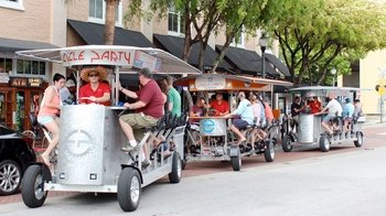 Quadracycle Bar Crawl