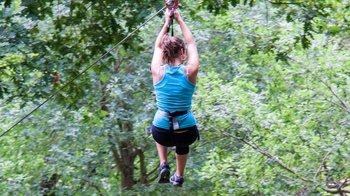 Sport Circuit Zip line & Adventure Course at Forestal Park Bilbao