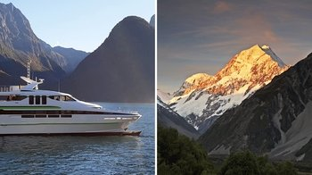 2-Day Combo: Milford Sound Day Tour & Mount Cook Tour