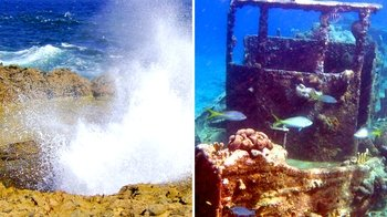 Combo Tour: Tugboat Snorkelling Trip & Shete Boka by Jeep