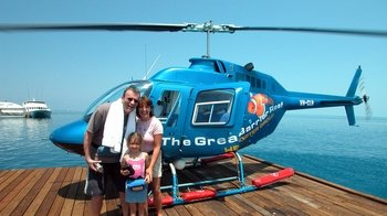 Marine World Experience & Great Barrier Reef Helicopter Flight