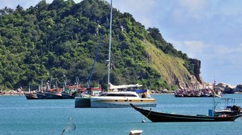 Private Full-Day Angthong National Marine Park Sailing Tour