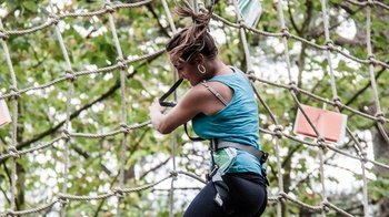 Family Circuit Zip line & Adventure Course at Forestal Park Bilbao