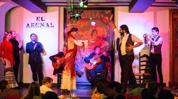 Flamenco Show at Tablao El Arenal