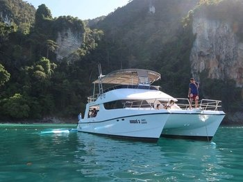 Phi Phi & Maiton Islands by Power Catamaran