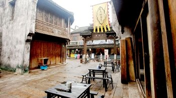 Private Day Tour to Fengjing Ancient Town & Peasant Painting Village