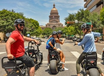Tour Austin on Electric Minibikes