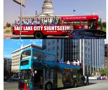 Salt Lake City Hop on Hop Off Sightseeing Tour