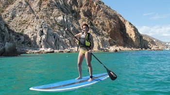 Stand-up Paddleboarding Lesson at Medano Beach