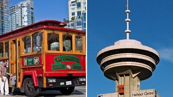 Vancouver Hop-On, Hop-Off DUAL Pass & Observation Deck