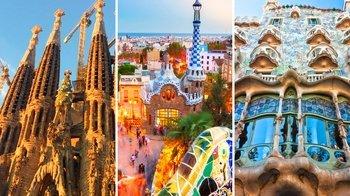 ,Casa Batlló,Batlló House,Sagrada Familia,Sagrada Familia,Parc Güell,Parc Güell