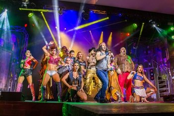 Rock of Ages Cancun Show Tickets Soft Drinks & Beer Included