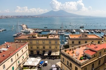 Naples in 1 Day from Sorrento with Coffee & Pastries