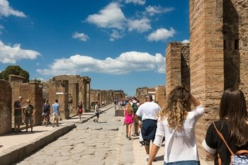 Pompeii & Pizza Lunch with Private Transfers from Sorrento