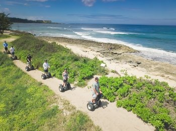 North Shore Beach Segway Tour