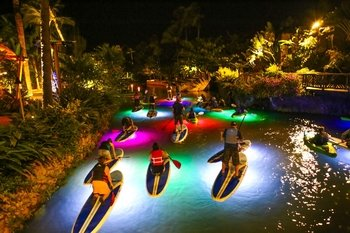 Lunar Legends of Polynesia Night-time Water Experience