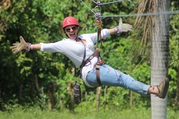 Zip Line Punta Cana with Cocoa Demonstration