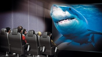 Antalya Aquarium & XD Cinema Ticket with optional Transfer
