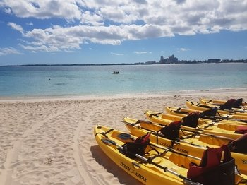 Kayak Adventure at Private Island