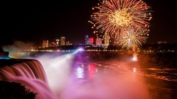 Niagara Falls American-Side Illumination Tour with Boat Ride