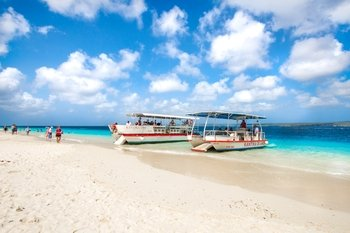 Roundtrip to Klein Bonaire by Watertaxi