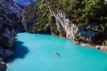 Les Gorges du Verdon, the greatest Canyon in Europe