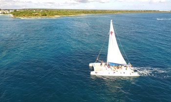 All-Inclusive Trip to Saona Island by Speedboat & Catamaran