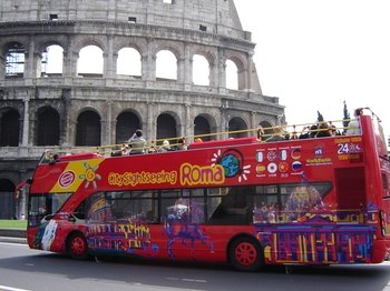 City Sightseeing Roma in autobus hop-on hop-off