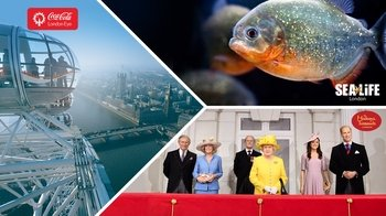 London Big Ticket -lippu – London Eye, Madame Tussauds ja SEA LIFE