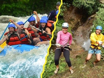 Canyoning Rappeling and Rafting Combo