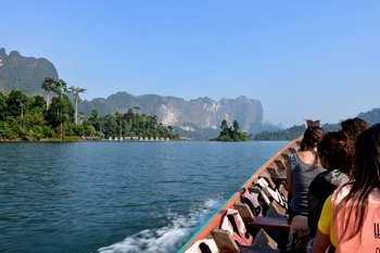 Cheow Lan Lake Raft House Adventure with Overnight Stay