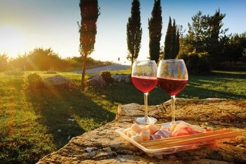 Chianti & SPA Experience with Dinner from Florence