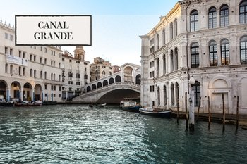 Combo Tour: Charming Gondola Ride & Canal Grande Boat Tour