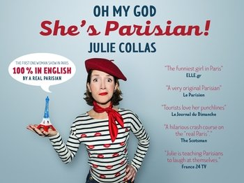 Oh my god she's Parisian! The brand new show in Paris !