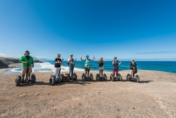 Segway Tour around Playa de Jandía in Fuerteventura