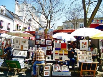 Montmartre in Paris Semi-Private Guided Walking Tour