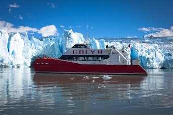 Navigation to Grey Glacier from Puerto Natales