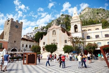 From Catania: Full-Day Taormina, Savoca & Castelmola Tour