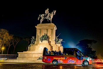 Romantic Rome: Night Tour by Bus