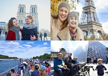 Best of Paris in 1 Day :Eiffel Tower/Cruise/Louvre/Notre Dame