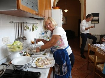 Traditional Home Cooking Class in Lecce
