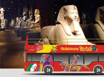 48 hrs Turin Hop-on Hop-off + Egyptian Museum