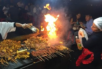 Lima Historic Center : Street Food Experience