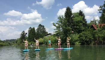 Paddle-boarding Ljubljana - Into The Wild Sup Tour