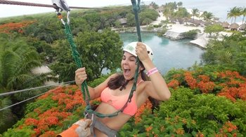 Xtrem Adventure Zip line at Chankanaab Park Cozumel