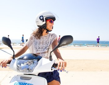Scooter hire in Menorca