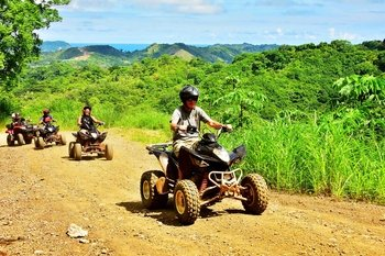 Jaco Beach and Los Suenos 3-hour Quad bike with Waterfalls